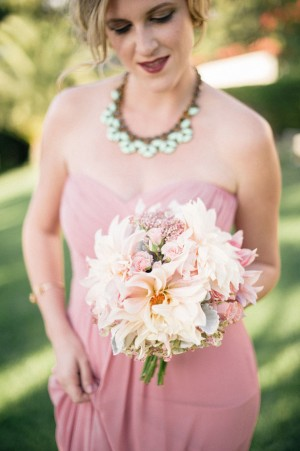 Pink wedding bouquet -Melvin Gilbert Photography