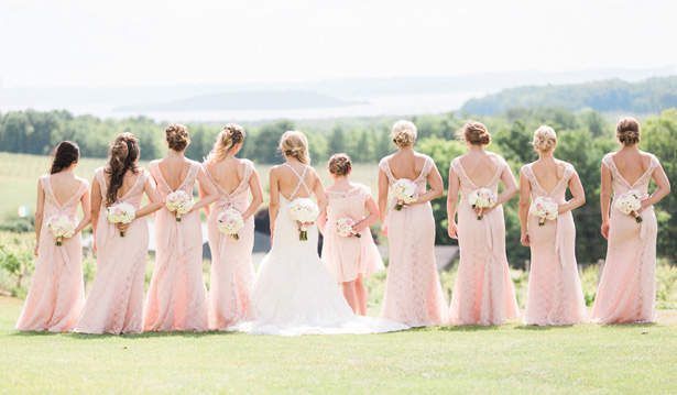 Bridesmaid photo ideas - Dan and Melissa