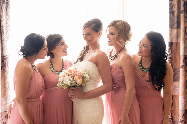 Pink Bridesmaid Dresses -Melvin Gilbert Photography