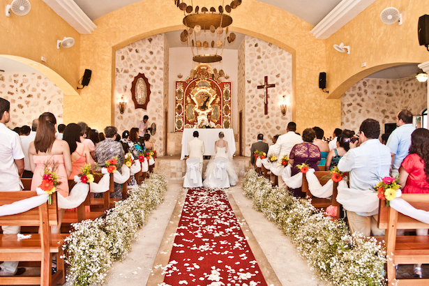 Catholic Wedding at Iberostar Riviera Maya