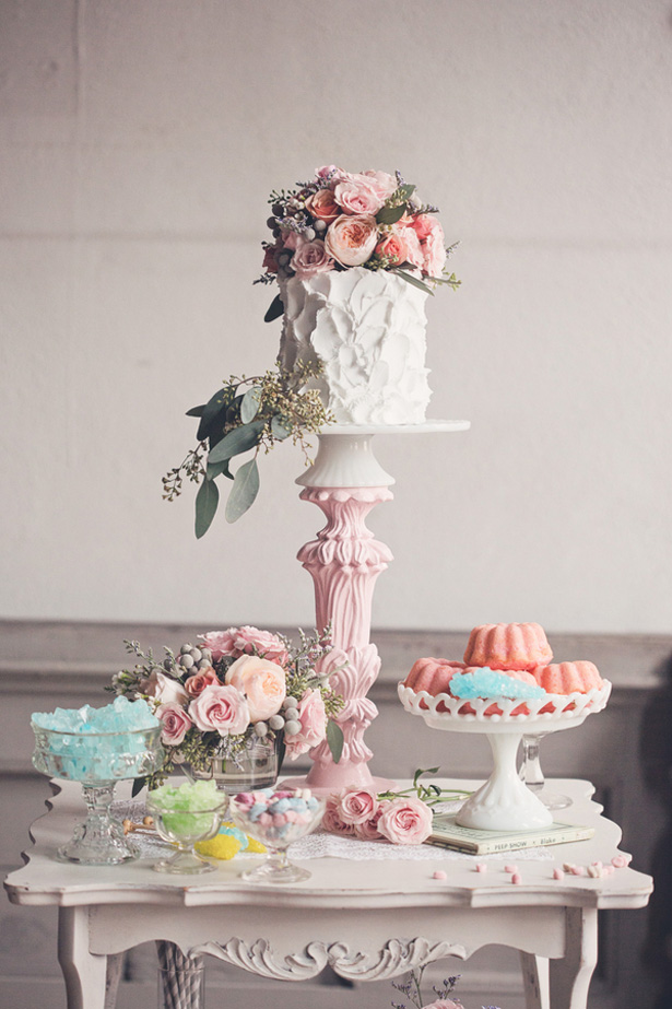 Colorful cake table - Millie B