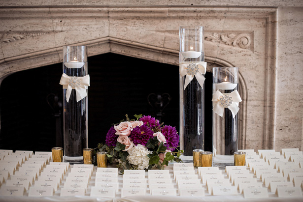 Escort cards table - William Innes Photography