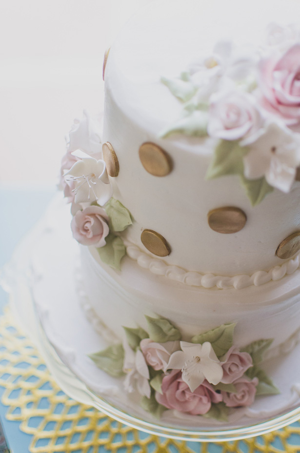 Floral wedding cake - Paper Ban Photography