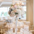 Floral wedding centerpiece - Michael David Photography