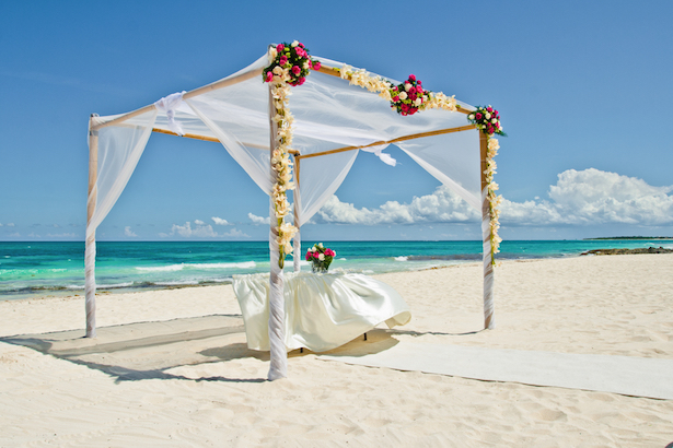 Iberostar Beach Wedding Ambient
