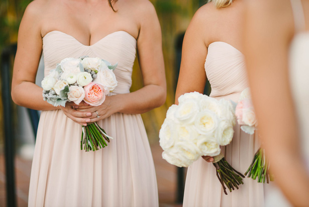 Real Bridesmaids In Beige Bridesmaid Dresses: Light Beige Bridesmaid Dresses