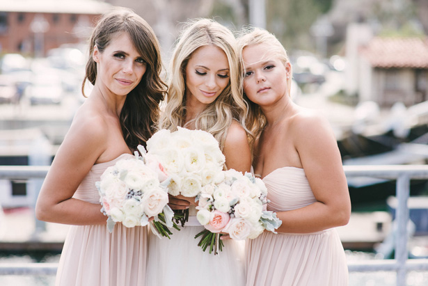Light pink bridesmaid dresses - Vitaly M Photography