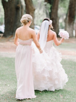 Light pink bridesmaid dress - Pasha Belman Photography