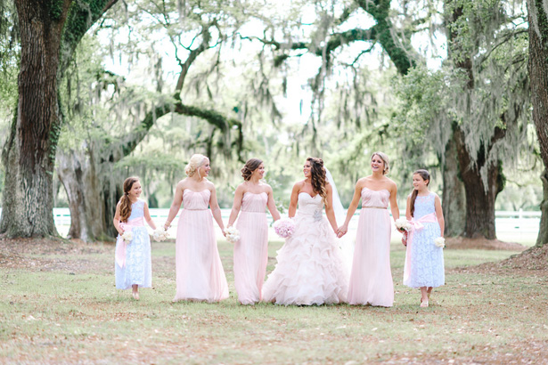 Light pink bridesmaid dresses - Pasha Belman Photography