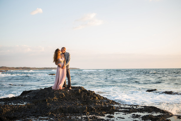 Romantic Beach wedding photo - Madison Baltodano Photography