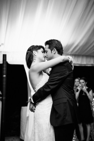 Romantic wedding photo - Kristen Weaver Photography