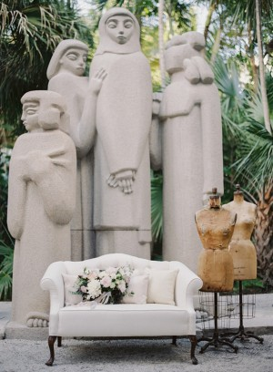 Sculpture gardens wedding venue - Melanie Gabrielle Photography
