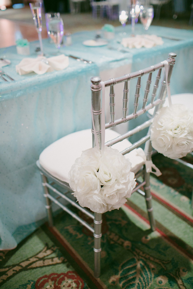Silver Wedding Chairs Bluespark Photography
