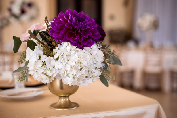 Wedding centerpiece ideas - William Innes Photography