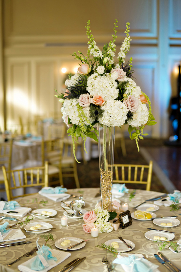 Wedding centerpiece -Andie Freeman Photography