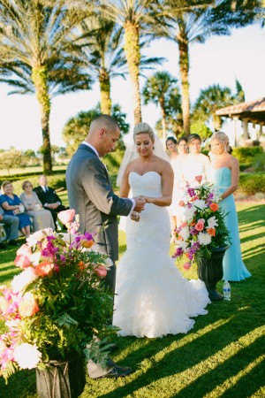 Wedding-ceremony - Bluespark Photography
