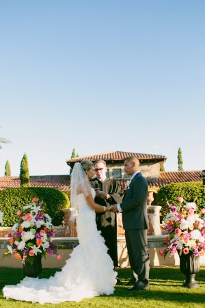 Wedding ceremony - Bluespark Photography