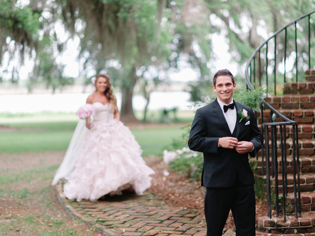 Wedding first look - Pasha Belman Photography