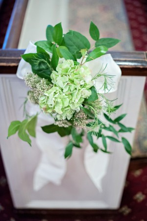 Wedding floral decorations - Kristen Weaver Photography