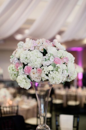 Wedding flower centerpiece ideas - Dan and Melissa