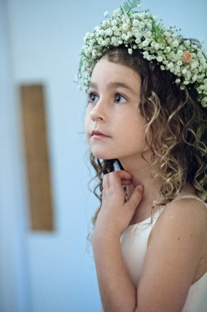 Wedding flower girl - Kristen Weaver Photography