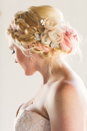 Wedding hair - Emily Joanne Wedding Films & Photography