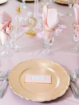 Wedding place setting - Pasha Belman Photography