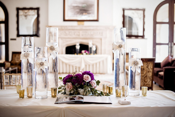 Wedding signing table - William Innes Photography