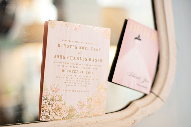 Wedding invitations - Kristen Weaver Photography
