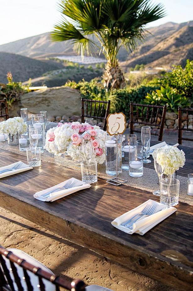 Wedding table details - William Innes Photography