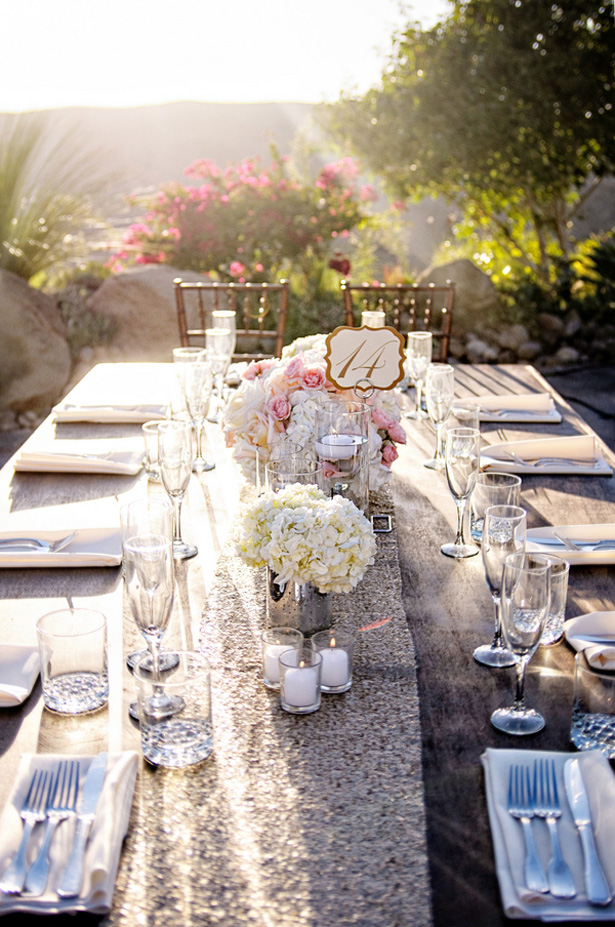Wedding table escape - William Innes Photography