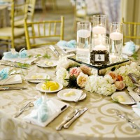 Wedding table escape - Andie Freeman Photography