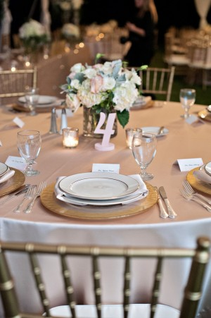 Wedding table number - Kristen Weaver Photography