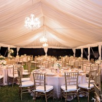 Wedding table setup - Kristen Weaver Photography