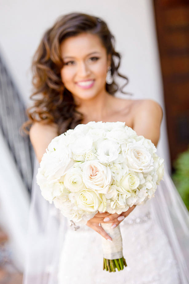 White Wedding bouquet - William Innes Photography