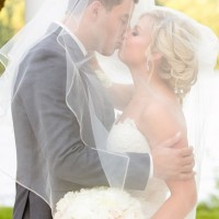 Romantic wedding photo - Candace Jeffery Photography