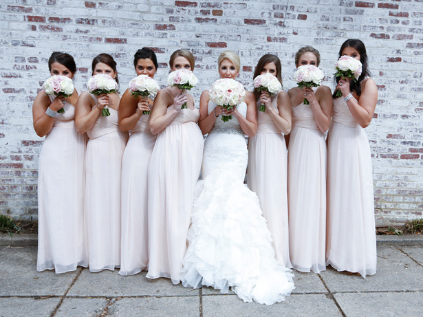 Blush bridesmaids photo ideas -Keith Cephus Photography