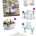 Crate and Barrel Wedding Registry : Outdoor Entretaining