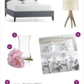 Crate and Barrel Wedding Registry : The Bedroom