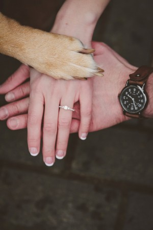 engagement ring - Meagan White Photo