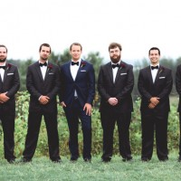 groomsmen - Dan and Melissa