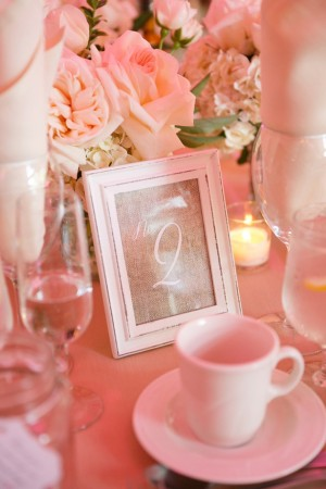 Table Number - Candace Jeffery Photography