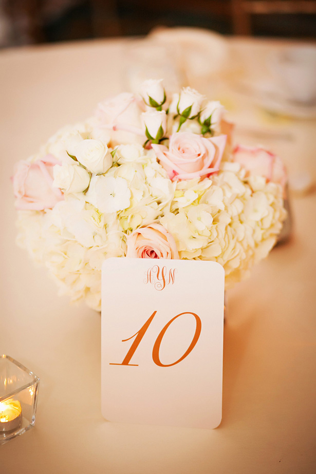 Table Number - Limelight Photography