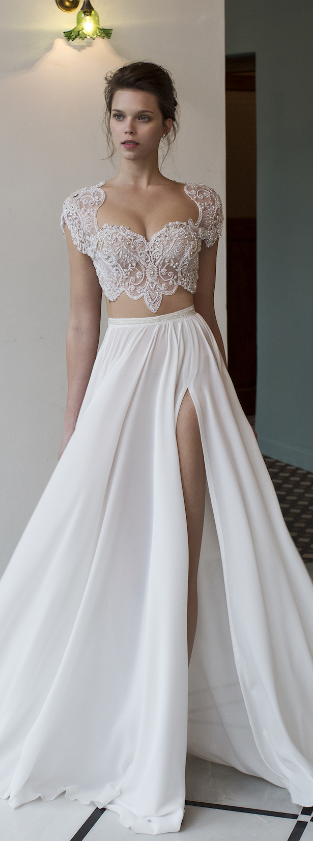 Bridal Trends: Two- Piece Wedding Dresses - Belle The Magazine