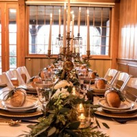 Holiday Wedding Table - LLC Heather Mayer Photography