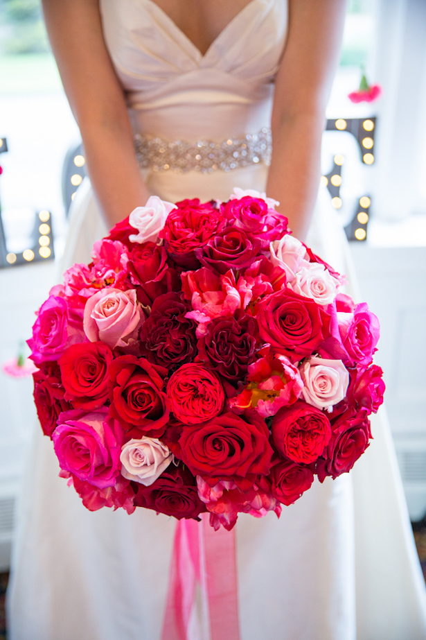 Stunning Wedding Bouquet - Joanna Moss Photography