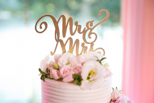 wedding cake details - Candace Jeffery Photography