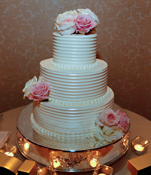 wedding cake - Keith Cephus Photography