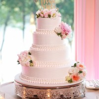 wedding cake - Candace Jeffery Photography