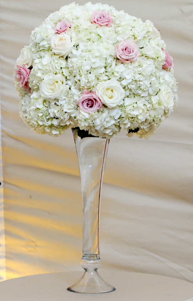 wedding centerpiece -Keith Cephus Photography